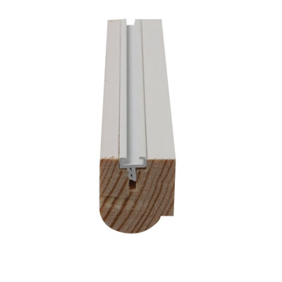 Timber Staff Bead - 24 x 20mm - Pack 10 x 3000mm - Primed White)