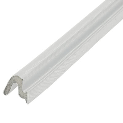 Schlegel Q-Lon 48447 T-Slot Flipper Seal - 25m - White