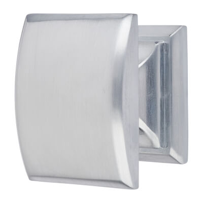 Egar Cabinet Knob -Brushed Chrome