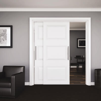 KLÜG Double Top 45 Sliding Door Track and Channel Pack - 3000mm