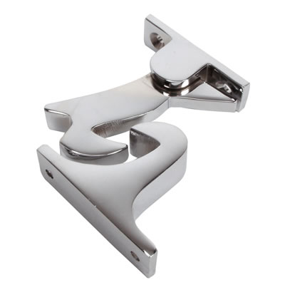 Gravity Door Holder - 60mm - Polished Chrome