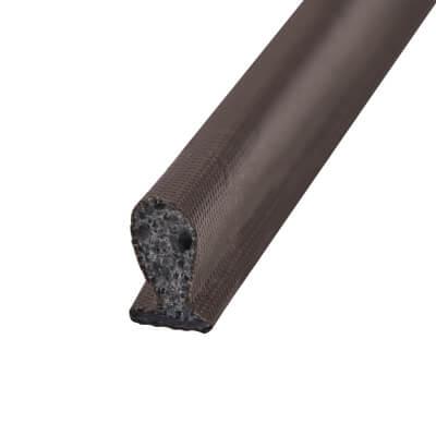 Exitex D Slot Aquatex Seal 9.5mm - 100 metres - Brown