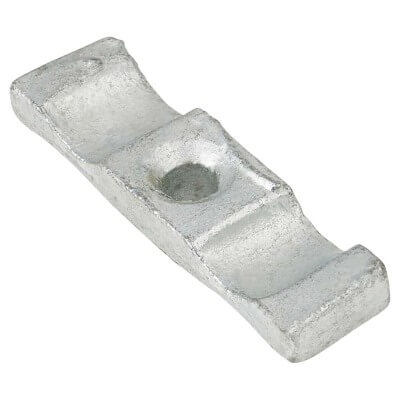 Cabinet Turn Button Catch - 50mm - Galvanised - Pack 5