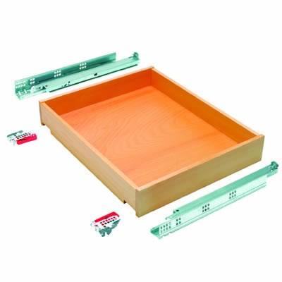 Blum Wooden Drawer Pack - Beech - (W) 548mm x (H) 87mm