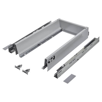 Blum TANDEMBOX ANTARO Drawer Pack - BLUMOTION Soft Close - (H) 84mm x (D) 450mm x (W) 400mm - Grey